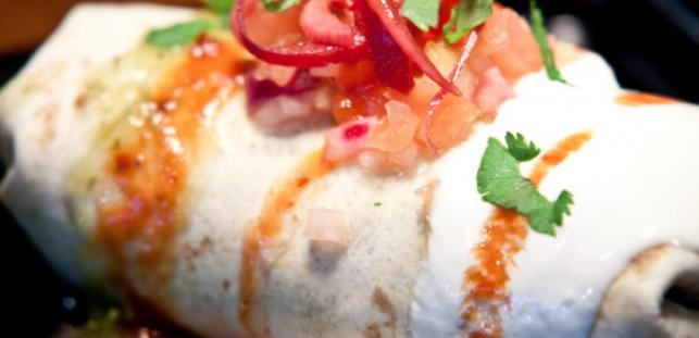 Beagle Dressed Burrito